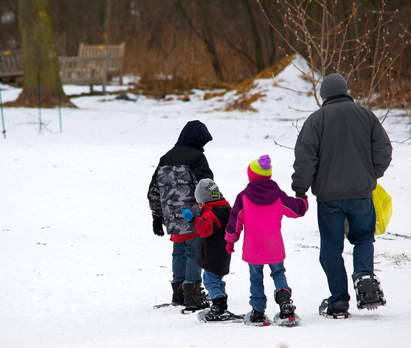 CANCELED: Snowshoe Hike @ Green Bay Botanical Garden
