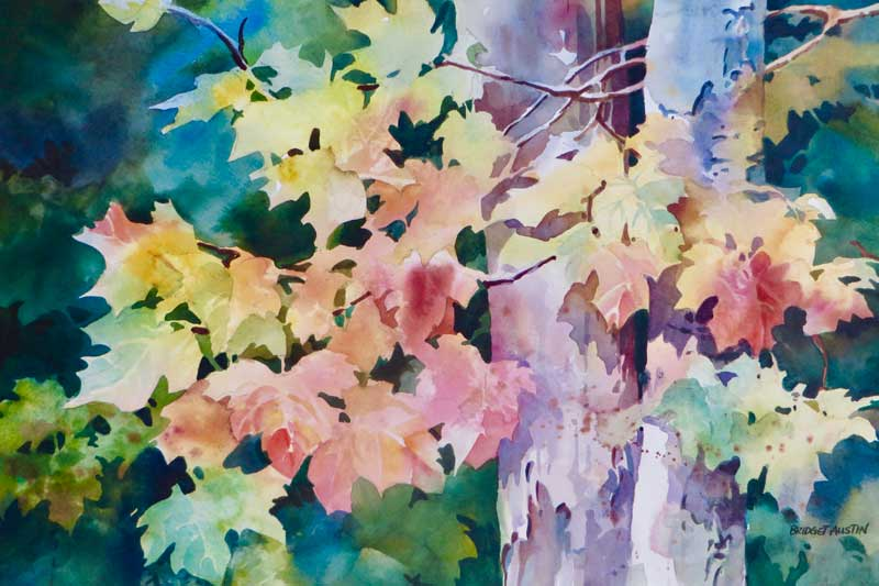 FULL: Watercolor: Into the Woods @ Green Bay Botanical Garden | Green Bay | Wisconsin | United States