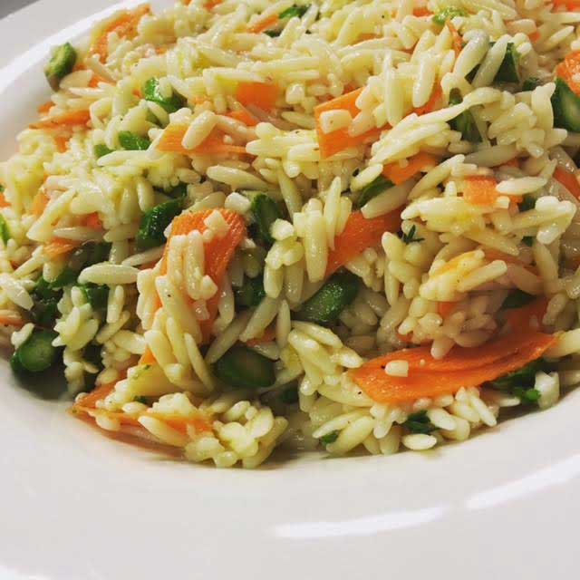 rice dish with veggies