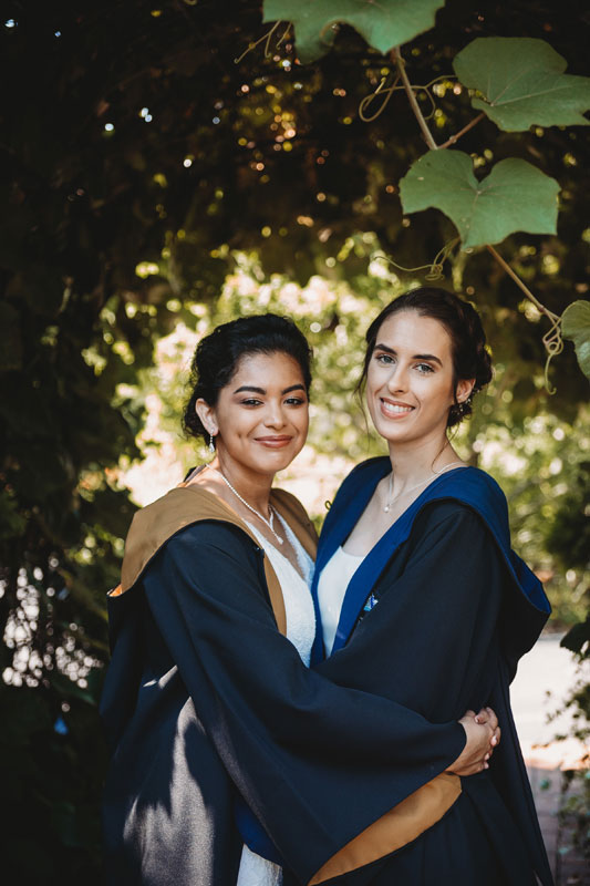 brides in harry potter robes PC: Abigail Miles Photography
