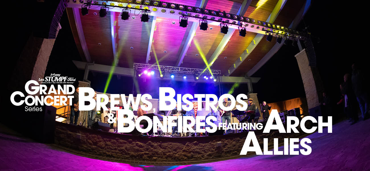 brews, bistros & bonfires featuring arch allies