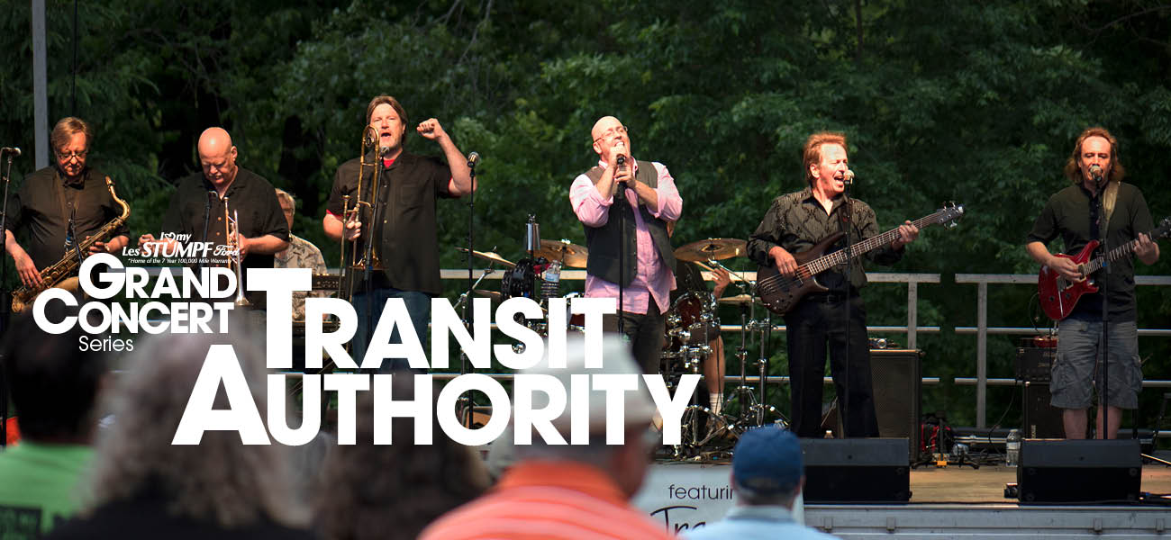 Les Stumpf Ford Grand Concert Series: Transit Authority