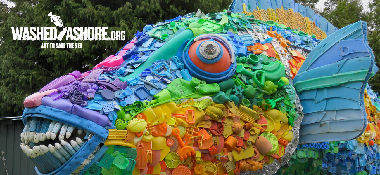 Washed Ashore: Art to Save the Sea @ Green Bay Botanical Garden