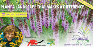 Virtual: Be a Part of the Solution - Plant a Landscape That Makes a Difference (presented by Melinda Myers)